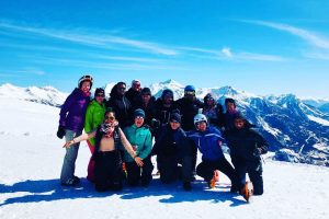 Skiing & Snowboarding French Alps with Go Beyond Adventure