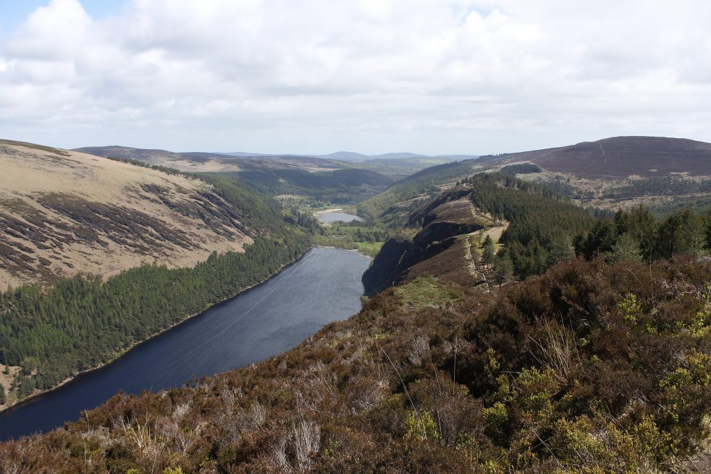 Rock Climbing in Beautiful Glendalough