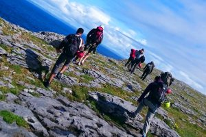 Rock Climbing in The Burren