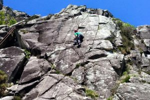 Rock Climbing Glendalough