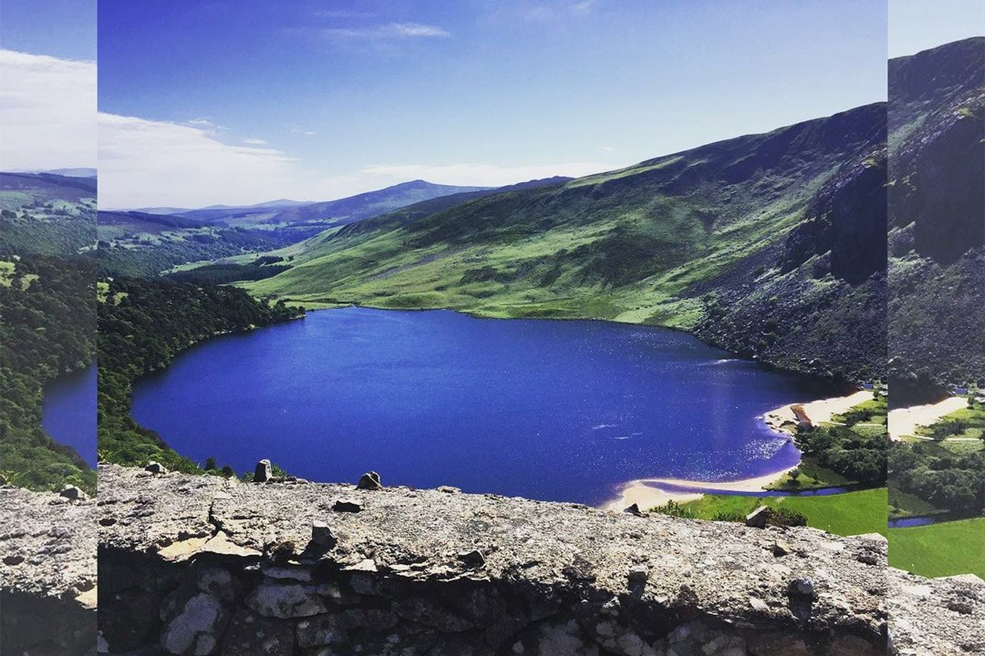 Lough Tay Co.Wicklow with Go Beyond Adventure